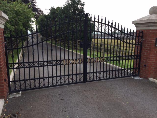 Elegant Wrought Iron Fence Repair Parts